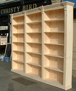 Libary Bookcase Made To Measure